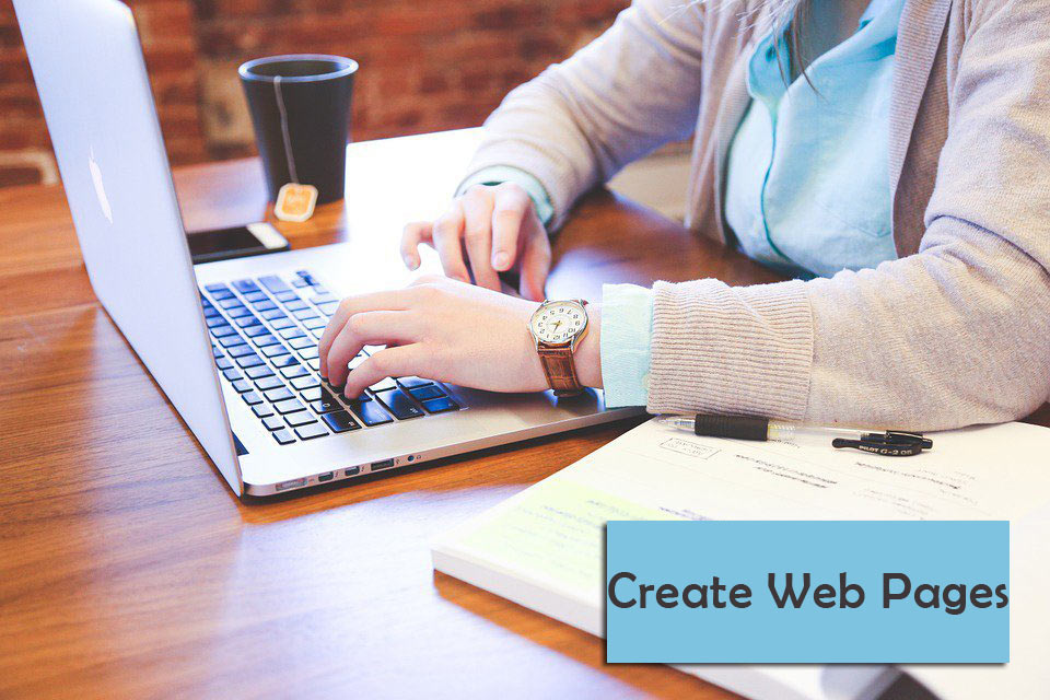 Create-web-pages